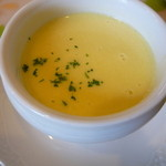 西洋割烹 花月 - 料理写真:かぼちゃのスープ