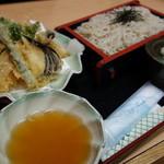 そば処 高山 - 天麩羅蕎麦(\1420)!
