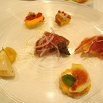 Convivio - 前菜盛り合わせ