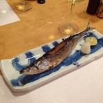 正寿司 - 秋刀魚の塩焼き