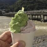 22121371 - 抹茶浮島&桜餅