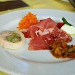 ヴィッラ マニョーリア - 前菜5種盛合せ(ランチAコース)