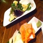 IZAKAYA P/man - 水ナスとみょうがの冷菜