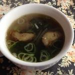ペパーミントハウス - ランチのスープ