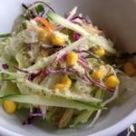 ペパーミントハウス - ランチのサラダ