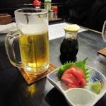 22124931 - 静岡麦酒&まぐろ刺☆