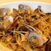 ラ・フレスク - 料理写真:アサリとキノコのペペロンチーノ