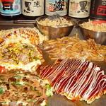 雅頌 - もんじゃ焼き・お好み焼・焼きそばなど鉄板料理も美味しい!