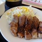 松屋 - トンテキ定食(2013年版)