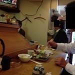 さ行や 龍川 - 201310 龍川 店内⇒