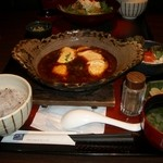 大戸屋 - 手造り豆腐の麻婆定食850円(税込)