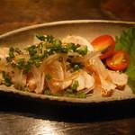 炉囲's - 鶏の刺身
