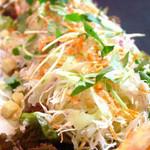 こだわり亭 - 【15種類の野菜サラダ】たっぷり野菜を食べて健康に…★一日に必要な30品目のうちこれを食べれば半分OK♪