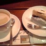 22132876 - 無糖ミルク珈琲、レアチョコ