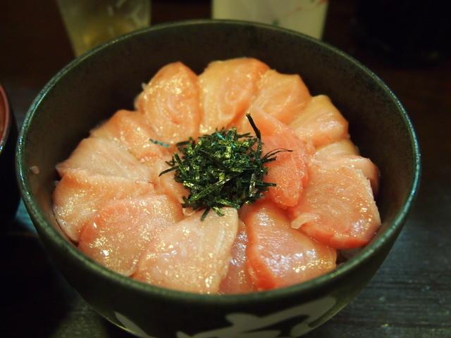 のっけ家 静岡店 - 本鮪大トロ頭肉丼