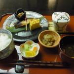 日本料理簾 - 今月のおすすめランチの銀ダラの西京焼き(1200円)