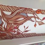 ビオディナミコ - 天井のデザインは当店の顔とも言えます