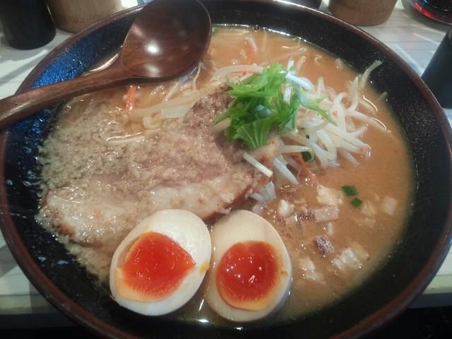麺屋そら - 濃厚!頑固味噌¥850 +味玉子(クーポンサービス・通常¥100)