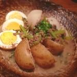肉や しるし - すげーボリュームの☆お通し☆(≧∇≦)