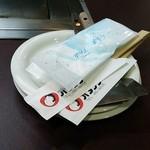 オタフク - 皿と箸♪