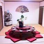 京華亭 - ◆円卓お座敷個室あり!人気席ですのでご予約はお早めに♪