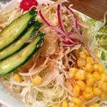 松竹園 - 野菜サラダ