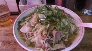 天心 - みそ野菜大盛り(850円)