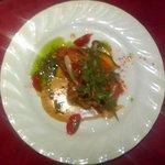 """2214043 - 西新宿""""Bistoro COLORIS""""ランチメインの肉「鶏肉のソテー」"""