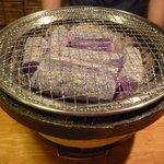 炭火焼肉 たろう - 七輪