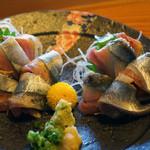 浜寿し - 秋刀魚刺