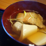 浜寿し - 鮭のあら汁