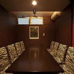 ブルシット - 10名様まで入れる個室のお席です。
