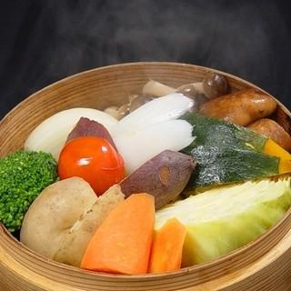 新鮮なお野菜をたっぷり召し上がって頂ける工夫