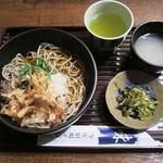 今庄宿場そば 真琴 - 料理写真:葉わさびおろしそば