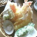 でんしょう坊 - えび天ぷら
