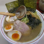 ラーメンショップ - ラーメン390円+味玉100円