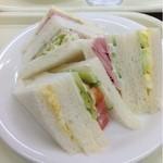 エルモア - サンドセットのサンドイッチ