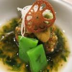 濤﨑 - ムムムム?美味しかったんだけど名前が・・・里芋の揚げ団子?