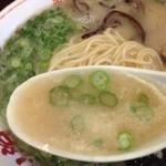 梁山泊 - スープ