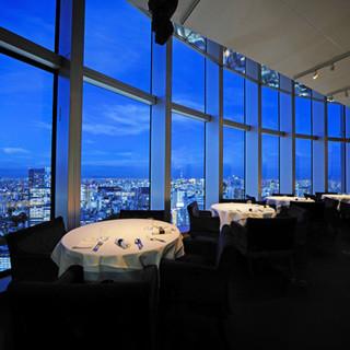 海抜250mのレストランで、最高のおもてなしを。
