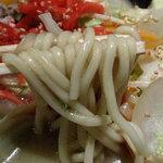 ターボー - 麺は太いチャンポン麺