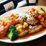 ポロン ポロン - 【サルセーラ】旨みが凝縮した具だくさんのスペイン風、魚介ブイヤベース♪