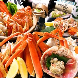 鮪と蟹の専門店!!専門店だからこそ味わえる希少部位などは絶品