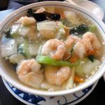 中国料理 福 - 海老つゆそば
