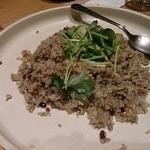 手作り料理とお酒 えん - 十穀米のカニみそ炒めごはん