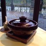 Ribaritoritogaraku - 朝は土鍋ご飯(2013.10)