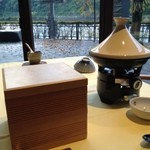 Ribaritoritogaraku - タジン鍋は豆乳鍋(2013.10)
