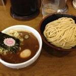 本家 大黒屋本舗 - つけ玉そば味濃い目(2013.08)