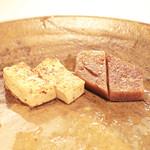神戸牛ステーキ Ishida. - 季節の焼き野菜:豆腐とこんにゃく  '13 10月下旬