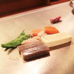 神戸牛ステーキ Ishida. - 季節の焼き野菜その1  '13 10月下旬